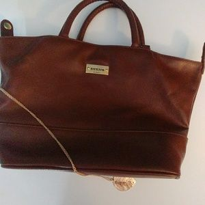 BUENO Satchel Bag, Brown